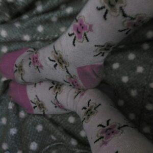 Calcetines rosas