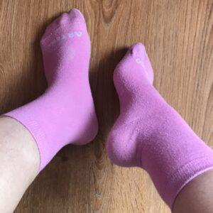 Calcetines muy sudados