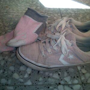 Zapatillas Converse rositas