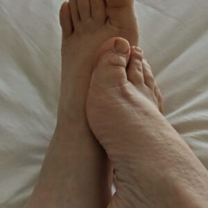 Mira mis pies