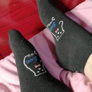 Calcetines usados para correr y sudar